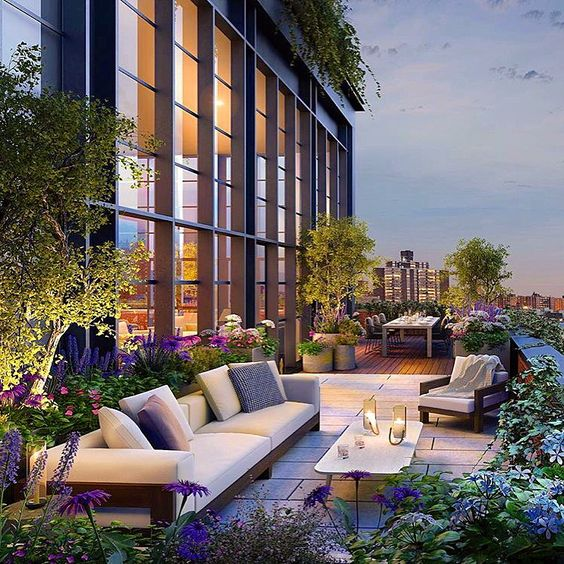 14 Jaw Dropping New York Roof Top Gardens