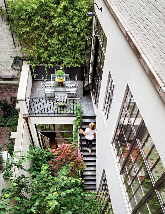 New York Townhouse Garden