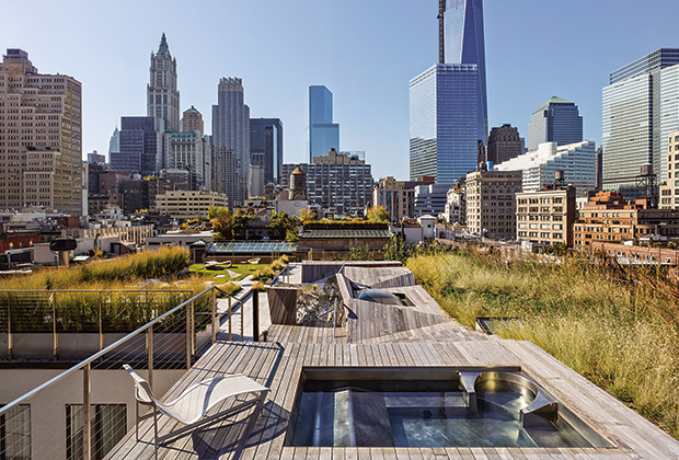 Tribeca Penthouse Garden