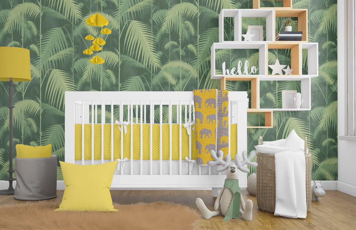 Jungle Nursery Theme Decor Ideas