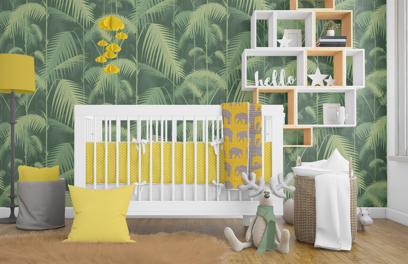 Jungle Nursery Theme Decor Ideas
